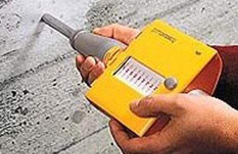コンクリート圧縮強度調査
