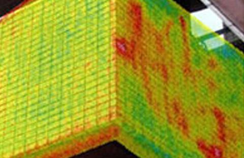 赤外線センサーによる調査